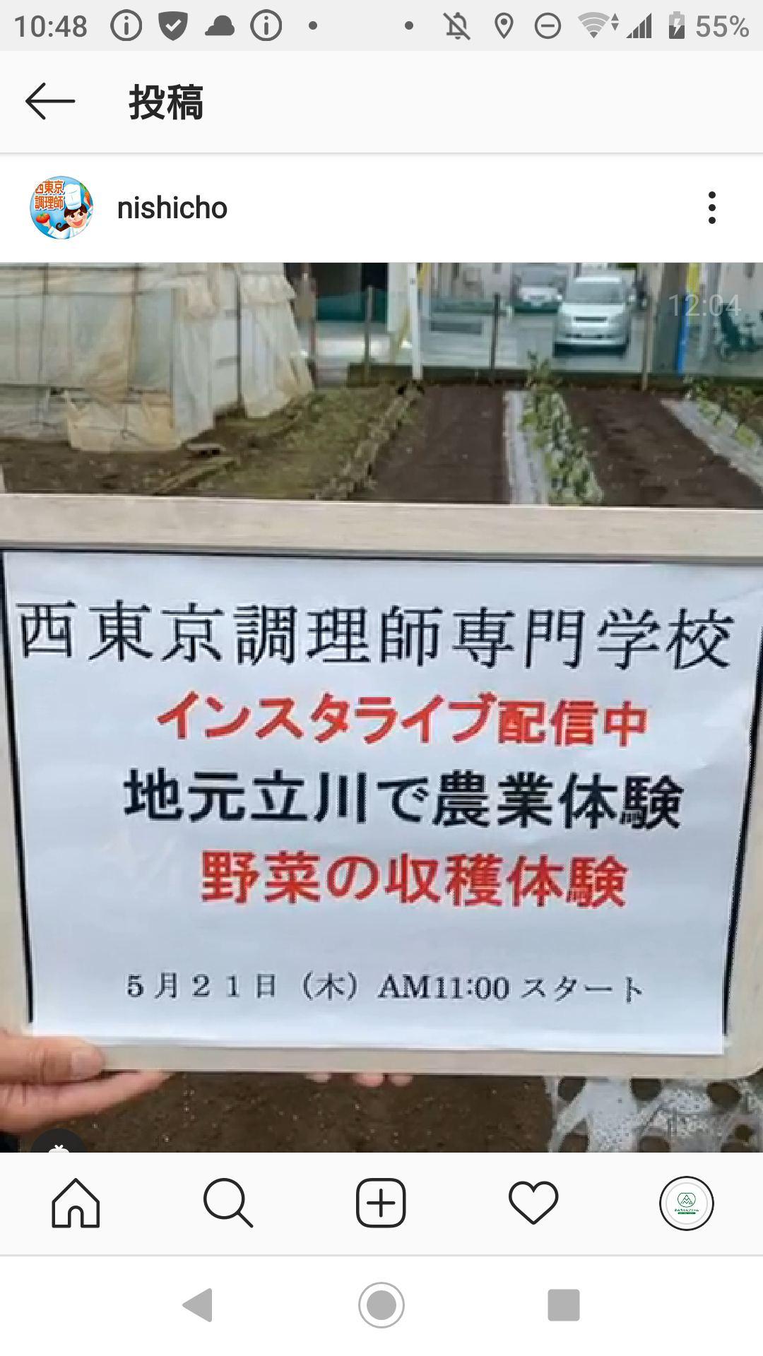 専門 師 東京 西 学校 調理